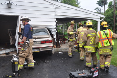 Vehicle into a Building 06-04-17
