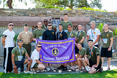2011 Memorial Day Half Marathon with the 3/5 Battalion