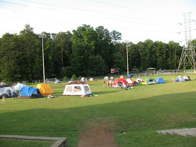 Father-Child Campout (Summer 2010)