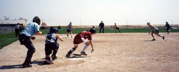 SN Softball vs NJ 2001