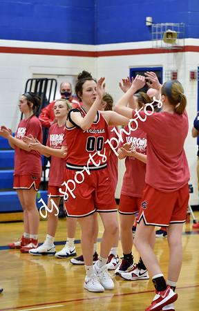 2021-02-20 SHA vs Anderson County Girls Varsity Basketball