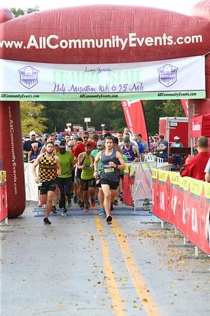 Long Grove's Prairie State Half Marathon, 10K & 3.5 Mile - 2018