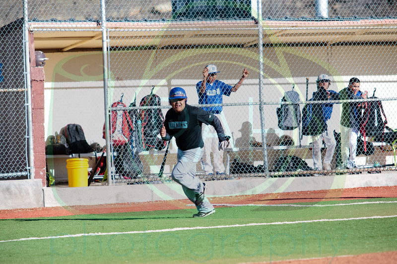 Gallup Mid vs Chief Boys A Team Baseball 3-27-17