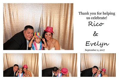 Evelyn & Rico's Wedding PhotoBooth