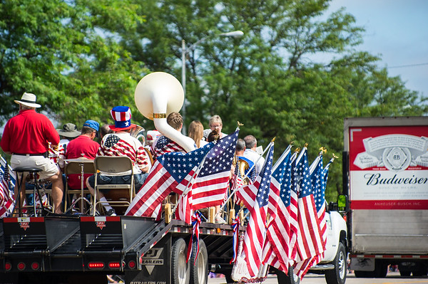 Hutchinson's 4th of July parade