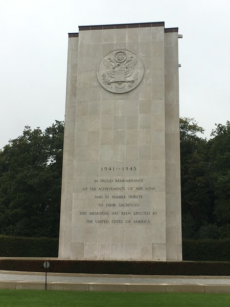 Luxembourg American Cemetary - 5000+ soldiers from Battle of Bulge buried here