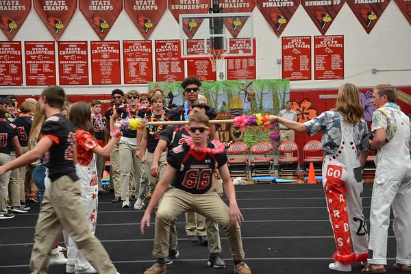 Pep Rally Hawaii Theme