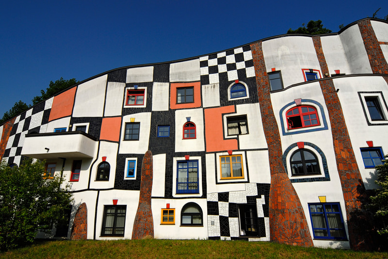Kunsthaus (Art House), Bad Blumau, Austria