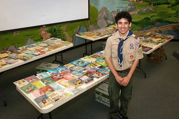 Brookwood Eagle Scout Project Book Drive