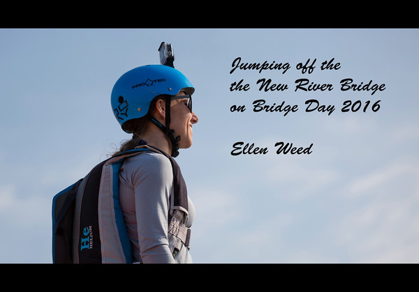 Base Jumper New River Gorge - Bridge Day 2016