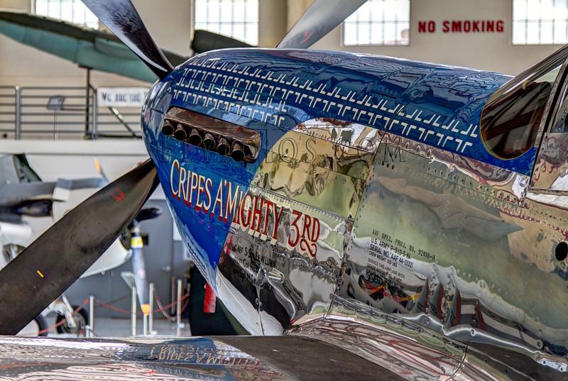 P51D Cripes A'Mighty 3rd at the Fantasy of Flight, Florida.