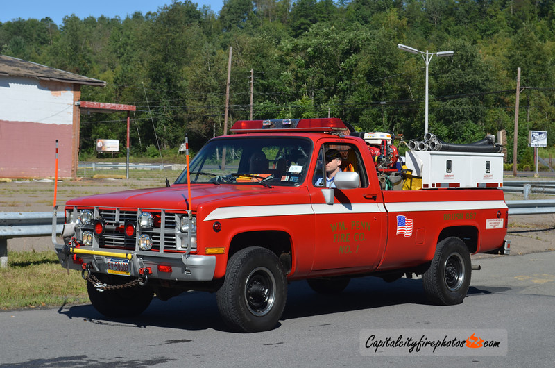 William Penn Fire Co. (West Mahanoy Township) Brush 887: 1987 Chevrolet