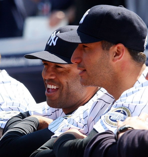 """. <p>7. ANDY PETTITTE & MARIANO RIVERA <p>One of these retiring Yankees will never set foot in the Hall of Fame because he cheated. The other is Mariano Rivera. (unranked) <p><b><a href=\'http://www.nydailynews.com/sports/baseball/yankees/madden-mo-andy-escaping-yanks-jeter-girardi-article-1.1463451\' target=\""""_blank\""""> HUH?</a></b> <p>     (Jim McIsaac/Getty Images)"""