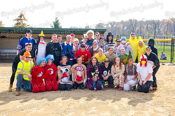 Halloween Softball/Baseball Game
