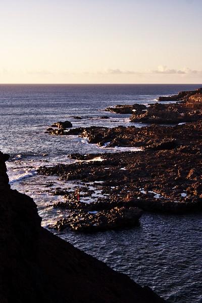 Pobřeží Atlantiku u Punta de Teno