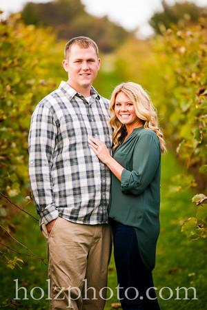 Megan & Kyle Color Engagement Photos