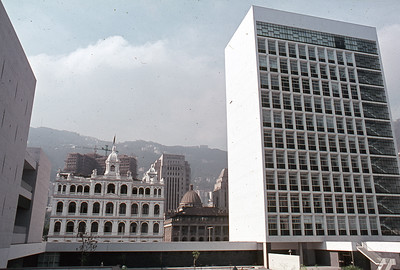 H.K. City Hall from court yard