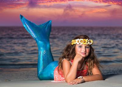 McKinlee the Mermaid, Panama City Beach, Sun Fun Photo 2015
