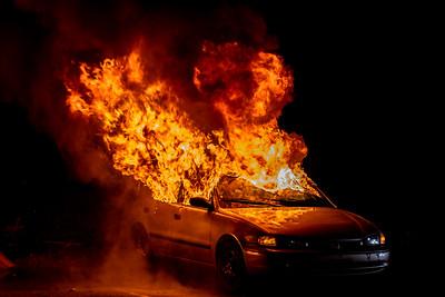 1-8-19 Car Fire Drill