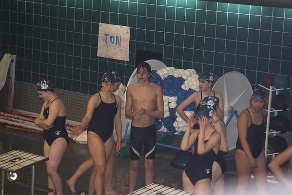 Swim meet at Mansfield 1-25