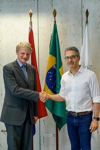 NBSO / Holland - Visita Oficial do Embaixador dos Países Baixos