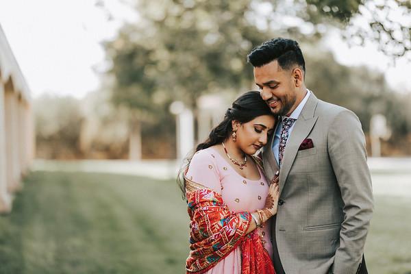 Ashi & Manmeet's Engagement Portraits