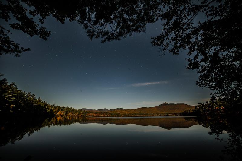 Moonlight on Chocorua Lake