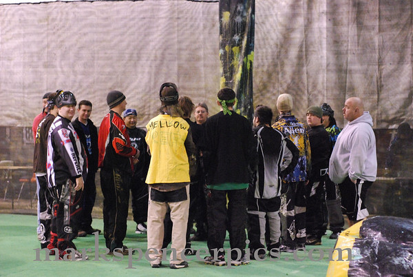 Paintball Addicts 3 Man 2-28-2009