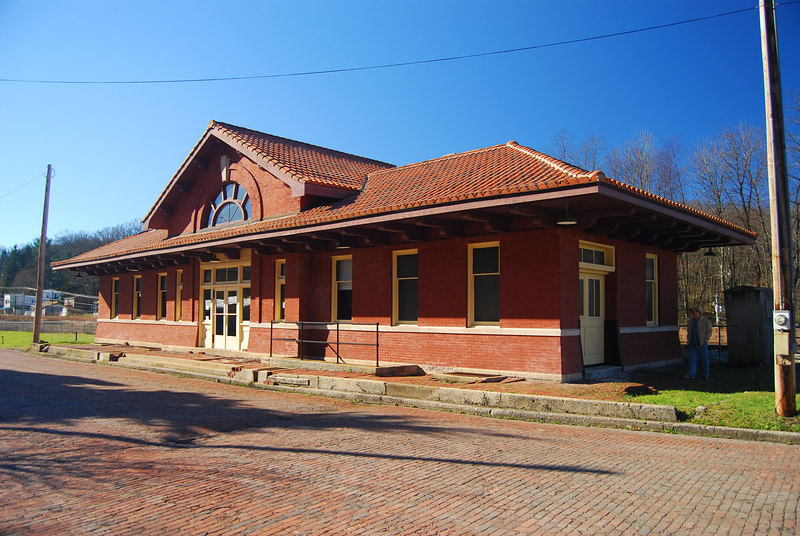 Train Depot in Tunnelton