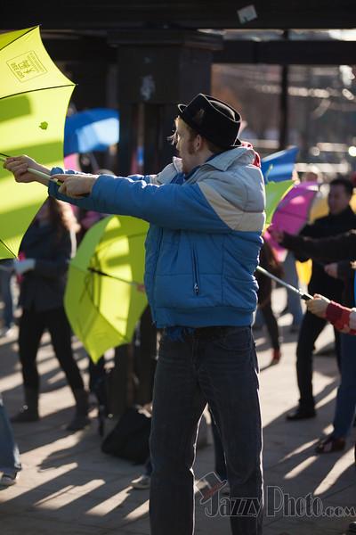 Umbrella Flash Mob 2010