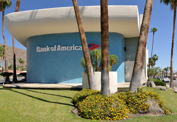 Day 1 - Two Mid-Century Modern Banks