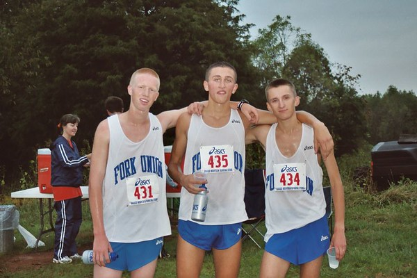 Cross Country Team at the Albemarle Invitational