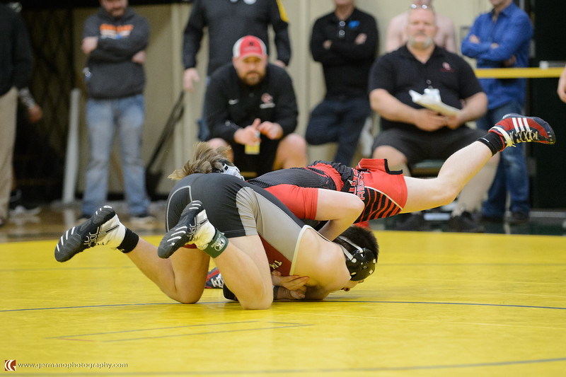 132 Tualatin vs Oregon City Bout 193 Ingham v Nekvapil