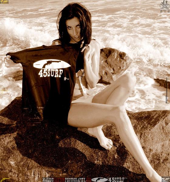 beautiful woman sunset beach swimsuit model 45surf 815.09.09...