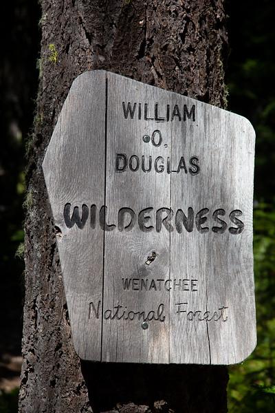 2019-08-25 Hiking American Ridge Trail 959 on Bumping River Road