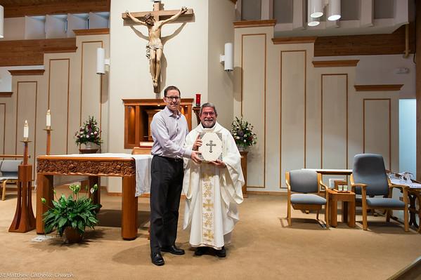 Fr Matt's Final Weekend at St Matthew (10:30 Mass)