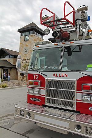 Allen Texas. New Station 2 Dedication/Open house. 11/12/16