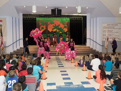 150601 CROCE ELEMENTARY SCHOOL - LION DANCERS ASSEMBLY