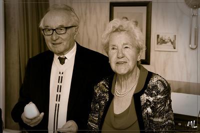 Fam. Fonteyne, 60 jaar getrouwd
