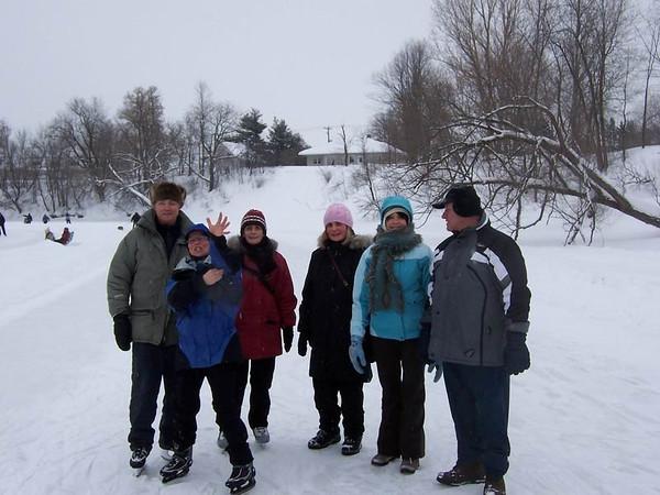 Rivière L'Assomption  (1er février 2009)