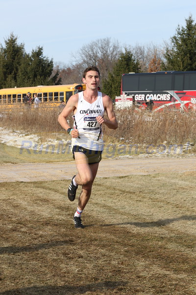 Men's 8K mark - 2019 NCAA DI Cross Country Great Lakes Regional