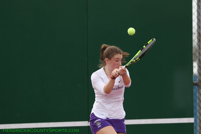 4.13.19 Girls Tennis - Brownsburg vs Lafayette Harrison