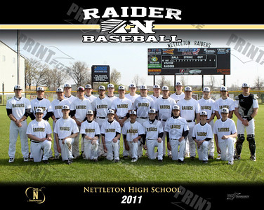 NHS Baseball Players 2011