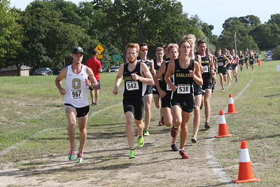 Men During Race - 2019 OU Golden Grizzly XC Open