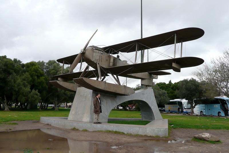 Biplane. Belém, Lisbon