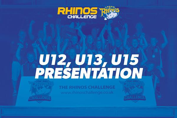 U12, U13, U15 PRESENTATION