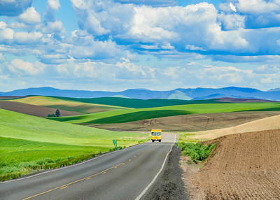 The Palouse Rolling Hills and Landscape