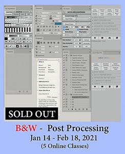 Black & White Post Processing
