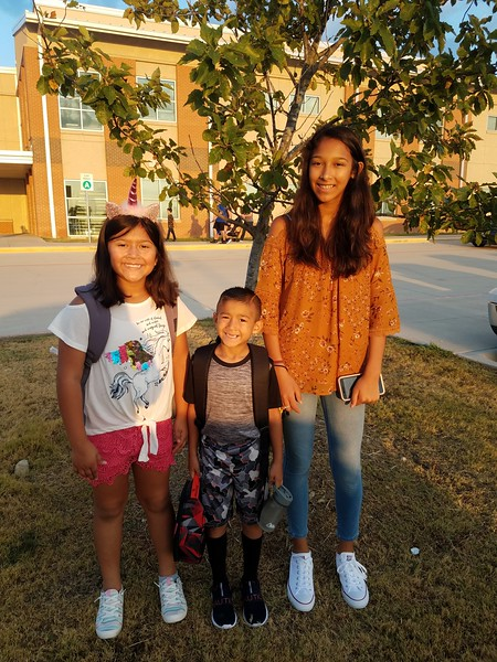 Jasmine, Jalisa and Xavier | 9th grade, 4th grade and 1st grade | Glenn High School and Camacho Elementary
