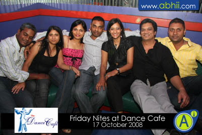 Dance Cafe - 17th October 2008